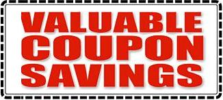 Online list of Coupons & Rebates